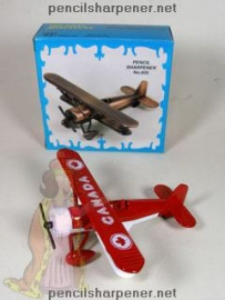 0026_red_canada_biplane_pencil_sharpener